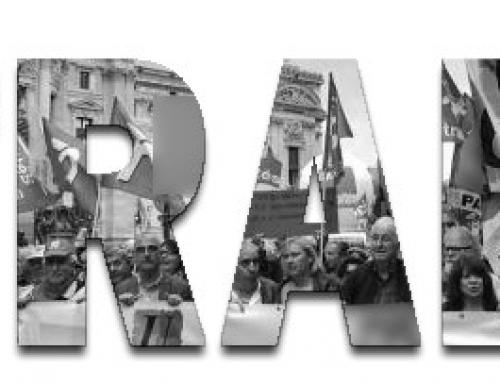 14 novembre ; les retraités continuent le combat: ni nantis, ni privilégiés: en colère!