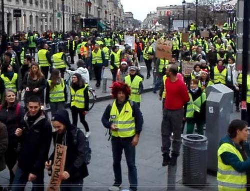 8 décembre 2018 manifestations pacifistes GJ et climat