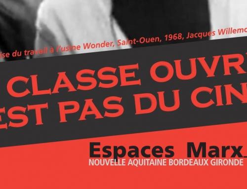 Stage Cinéma : réservez vos dates !