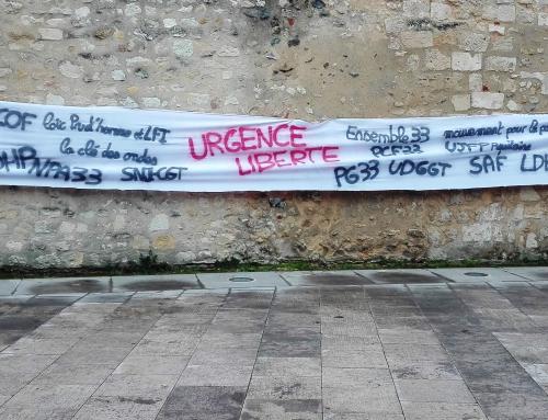 18 janv 18 communiqué de presse URGENCE LIBERTE