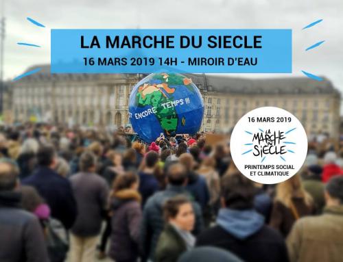 marche du siècle pour le climat le samedi 16 mars – Gréve des jeunes 15 mars