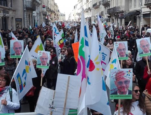 19 mars une grève très suivie dans les écoles ; amplifions le mouvement le 30 mars !