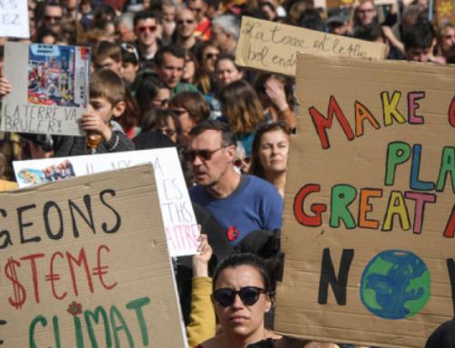 Plus de 350 000 personnes participent La «Marche du siècle» pour le climat et la «justice sociale»