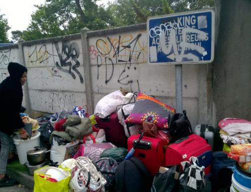 Rue89 Bx : 170 personnes environ expulsées d'un squat à Talence, dont une grande partie d'enfants scolarisés