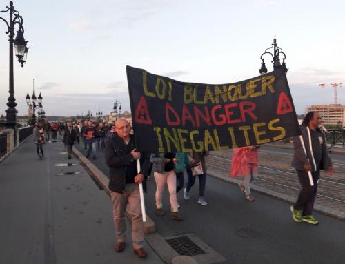 Vend 14 juin contre Blanquer ON CONTINUE ! Marche aux flambeaux et repas éclairé sur le Pont de Pierre