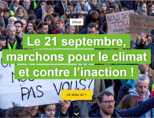 URGENCE ECOLOGIQUE ET URGENCE SOCIALE : 20 et 21 septembre pour défendre la planète !