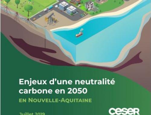 CESER NA : rapport enjeux d'une neutralité carbone en 2050