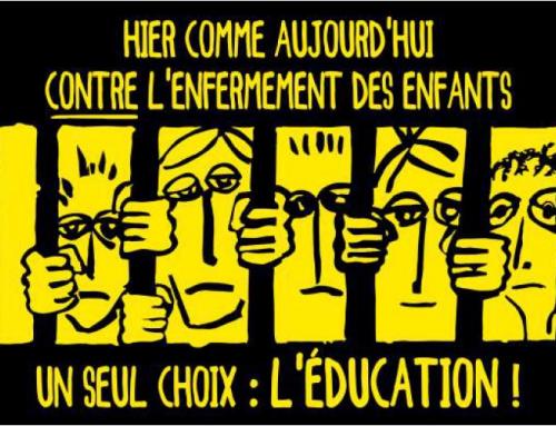 NON au nouveau code de justice pénale des mineur.es, OUI au pari de l'éducation !