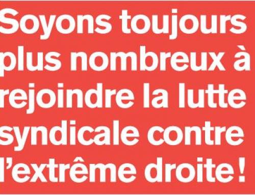 « Uni·e·s contre l'extrême droite, ses idées, ses pratiques »