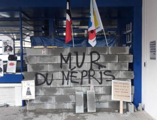 pourquoi ce mur du mépris !