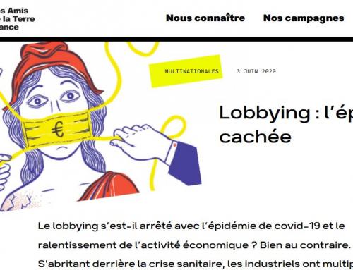 covid et lobbying