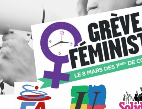 8 mars 21 Grève féministe : TOUTES et TOUS MOBILISÉ.ES POUR FAIRE de L'ÉGALITÉ FEMMES HOMMES une RÉALITÉ !