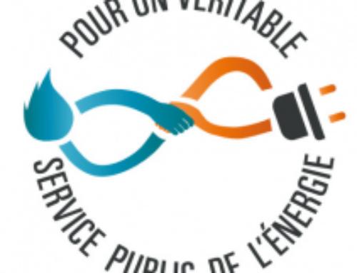 POUR un VERITABLE SERVICE PUBLIC de l'ENERGIE : soutenez l'appel !