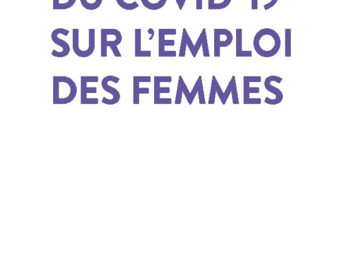 ⭐ Rapport : L'impact du Covid-19 sur l'emploi des femmes