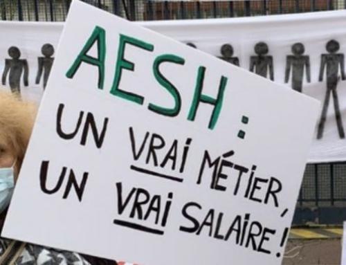 3 juin, AESH en grève: plus que jamais déterminé-es!