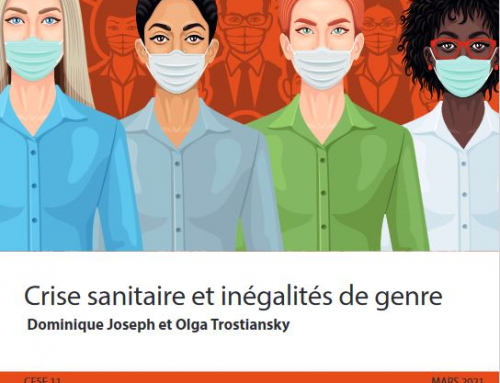 Les avis du CESE 11  MARS 2021/ Crise sanitaire et inégalités de genre
