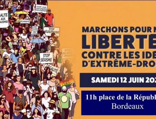 12 juin 2021 L'appel pour les libertés, contre les idées d'extrêmes droite